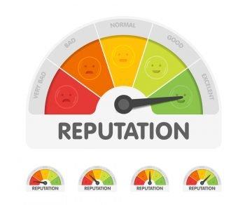 online reputation score
